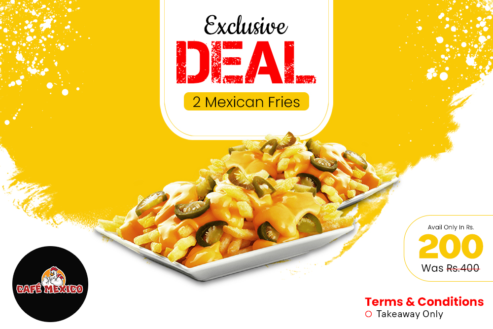 Buy 1 Get 1 Mexican Fries