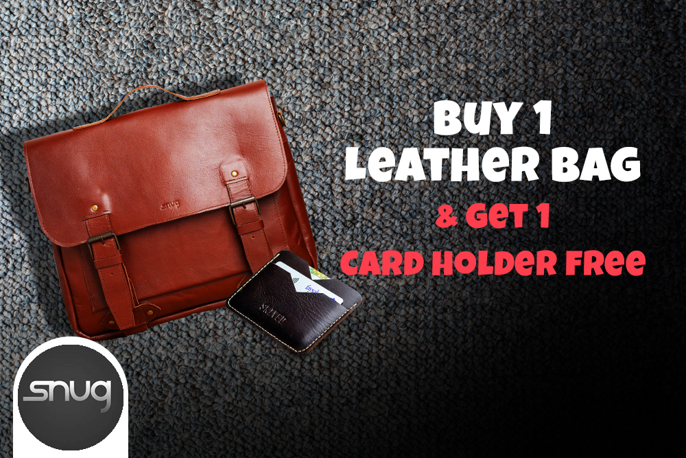Snug Leather Bag Deal