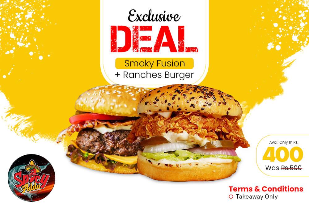 Ranch & Smokey Burger