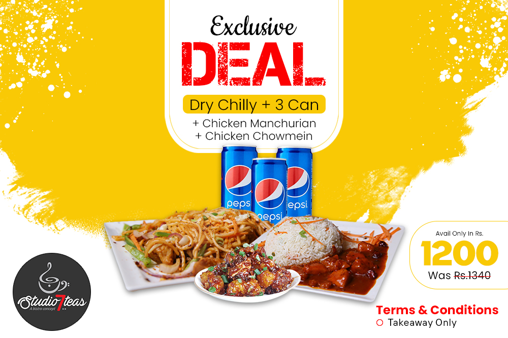 Studio Chinese Combo Deal